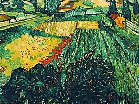 Vincent Van Gogh, Champ aux coquelicots - GRANDS PEINTRES / Van Gogh