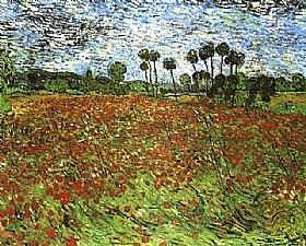Vincent Van Gogh, Champs de coquelicots - GRANDS PEINTRES / Van Gogh