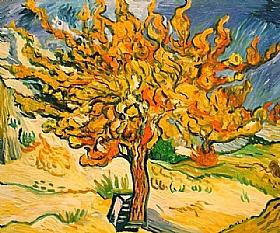 Vincent Van Gogh, Le murier-GRANDS PEINTRES-Van Gogh
