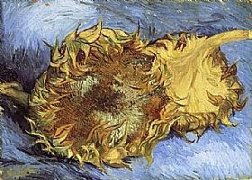 Vincent Van Gogh, Deux Tournesols - GRANDS PEINTRES / Van Gogh