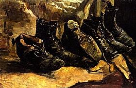 Vincent Van Gogh, Trois paires de souliers - GRANDS PEINTRES / Van Gogh