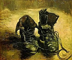 Vincent Van Gogh, Une paire de chaussures - GRANDS PEINTRES / Van Gogh