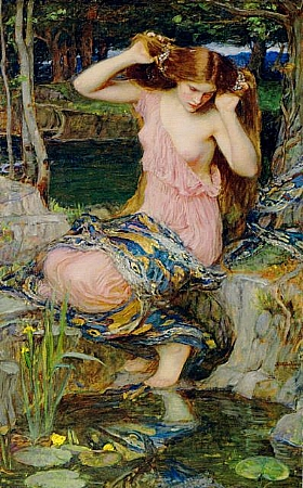 John William Waterhouse, Lamia - GRANDS PEINTRES / Waterhouse