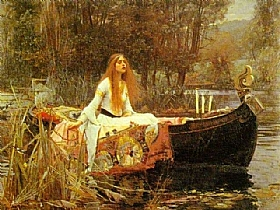 John William Waterhouse, The Lady of Shalott - GRANDS PEINTRES / Waterhouse