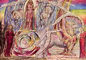William Blake, L'enfer de Dante - GRANDS PEINTRES / Blake