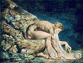 William Blake, Newton - GRANDS PEINTRES / Blake