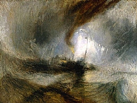 William Turner, Tempête en mer - GRANDS PEINTRES / Turner