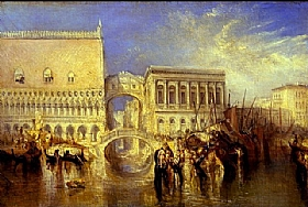 William Turner, Venise - Le pont des soupirs - GRANDS PEINTRES / Turner
