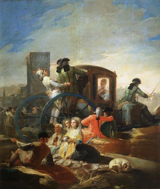 Francisco De Goya Le Marchand De Vaiselle Tableau De Grands Peintres Et Peinture De Goya