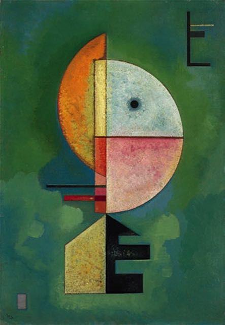 Vassily Kandinsky Vers Le Haut Tableau De Grands Peintres Et Peinture De Kandinsky