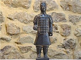 soldat de xian en terre cuite, fantassin - SCULPTURES / Céramiques