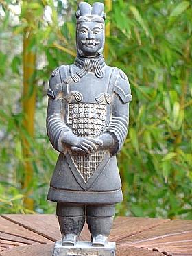 Soldat de Xian en Terre cuite, Le Général - SCULPTURES / Céramiques
