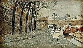 Albert Anker, Le Louvre à Paris - GRANDS PEINTRES / Anker