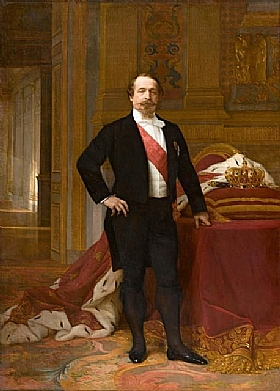 Alexandre Cabanel, Napoléon III - GRANDS PEINTRES / Cabanel