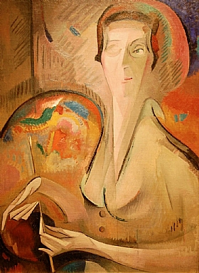 Alice Bailly, autoportrait - GRANDS PEINTRES / Bailly