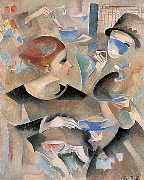 Alice Bailly, L'heure du thé - GRANDS PEINTRES / Bailly