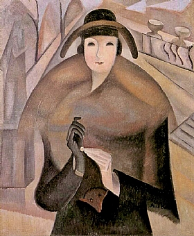 Alice Bailly, Matin frais au Luxembourg - GRANDS PEINTRES / Bailly