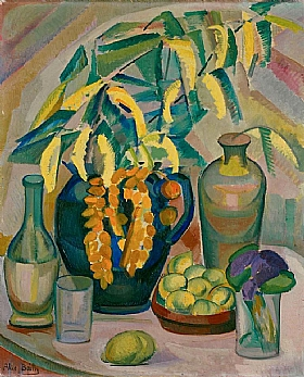 Alice Bailly, Nature morte aux mimosas - GRANDS PEINTRES / Bailly