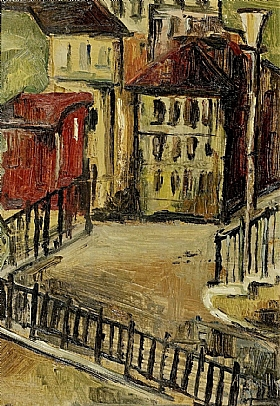 Alice Bailly, Paysage urbain - GRANDS PEINTRES / Bailly