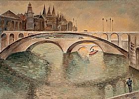 Alice Bailly, Ponts de Paris - GRANDS PEINTRES / Bailly