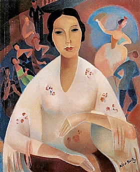 Alice Bailly, Souvenirs du pays - GRANDS PEINTRES / Bailly