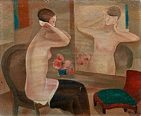 Alice Bailly, Toilette - GRANDS PEINTRES / Bailly