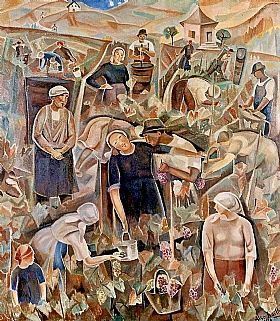 Alice Bailly, Vendanges - GRANDS PEINTRES / Bailly