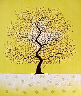 L'arbre des rêves, Harmonie jaune - PEINTURES / Tableaux bien-être