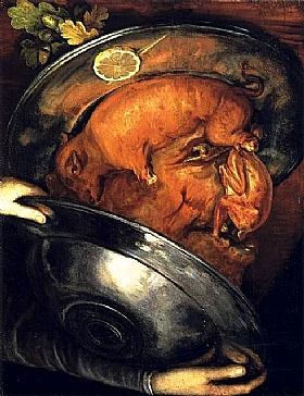 Giuseppe Arcimboldo, Le cuisinier - GRANDS PEINTRES / Arcimboldo