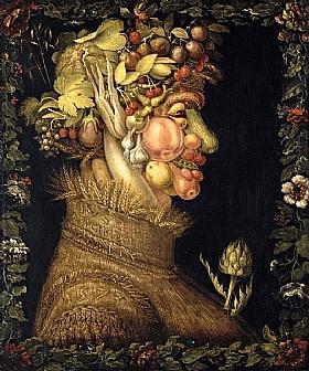 Giuseppe Arcimboldo, Eté (version Louvre) - GRANDS PEINTRES / Arcimboldo