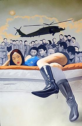 Nouvelle vague, un autre monde (2) - PEINTURES / Tableaux Asie