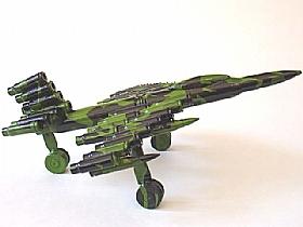 modèle réduit cartoucherie, avion de combat J-10 camouflage - SCULPTURES / Objets Insolites
