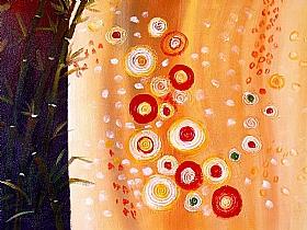 Nature et flore, harmonie de bambous - PEINTURES / Tableaux bien-être