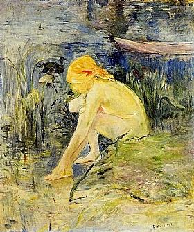 Berthe Morisot, La baignade - GRANDS PEINTRES / Morisot