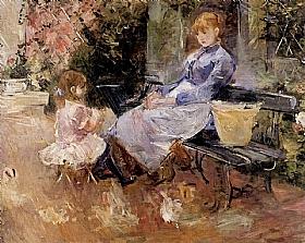 Berthe Morisot, La fable - GRANDS PEINTRES / Morisot