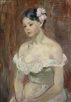 Berthe Morisot, Jeune fille en décolleté - GRANDS PEINTRES / Morisot