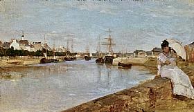 Berthe Morisot, Port de Lorient - GRANDS PEINTRES / Morisot