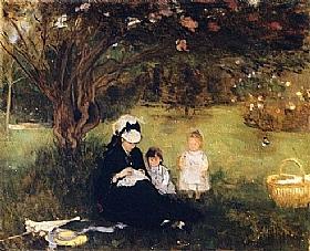 Berthe Morisot, lilas à Maurecourt - GRANDS PEINTRES / Morisot