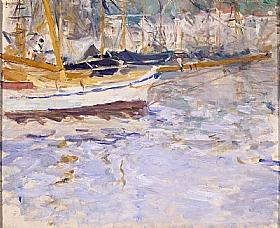 Berthe Morisot, Voiliers au port de Nice - GRANDS PEINTRES / Morisot