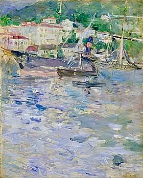 Berthe Morisot, Port de Nice - GRANDS PEINTRES / Morisot