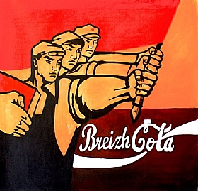 Made in Bretagne, Breizh Cola - PEINTURES / Tableaux Figuratifs