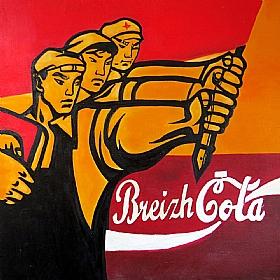 fabriqué en Bretagne, Breizh Cola - GRANDS FORMATS / 80cm x 80cm