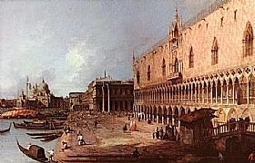 Canaletto, Le palais des Doges - GRANDS PEINTRES / Canaletto