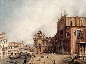 Canaletto, Palais des Doges - GRANDS PEINTRES / Canaletto