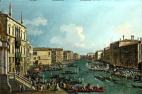 Canaletto, Régates sur le Grand Canal - GRANDS PEINTRES / Canaletto