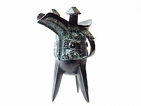 Carafe en bronze, Tripode Chunhua - SCULPTURES / Bronzes