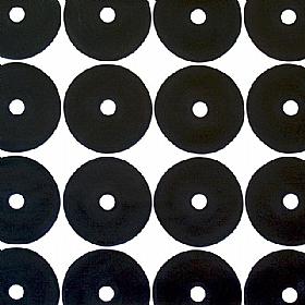 Les cercles du temps, Noirs sur fond blanc - PEINTURES / Tableaux Abstraits