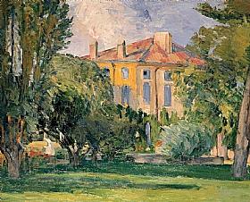 Paul Cézanne, Bastide du Jas de Bouffan - GRANDS PEINTRES / Cezanne