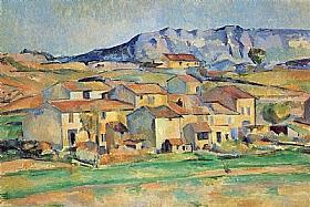 Paul Cézanne, Hameau à Payennet près Gardanne - GRANDS PEINTRES / Cezanne