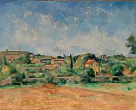 Paul Cézanne, Plaine de Bellevue - GRANDS PEINTRES / Cezanne